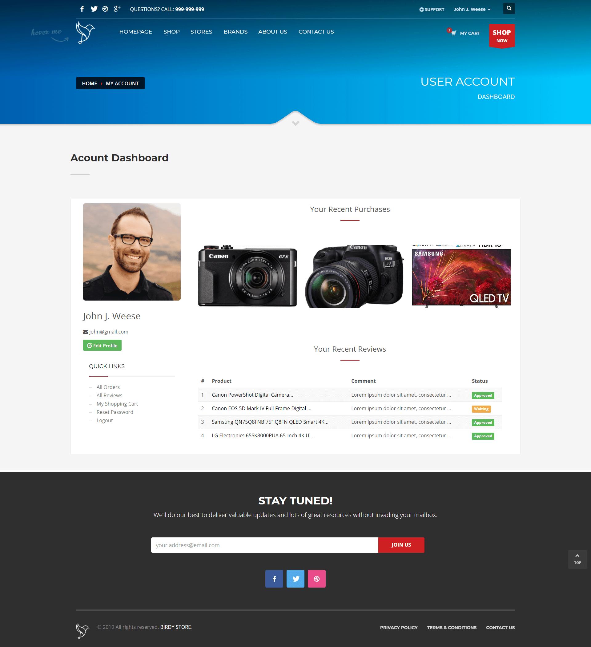 project slider image
